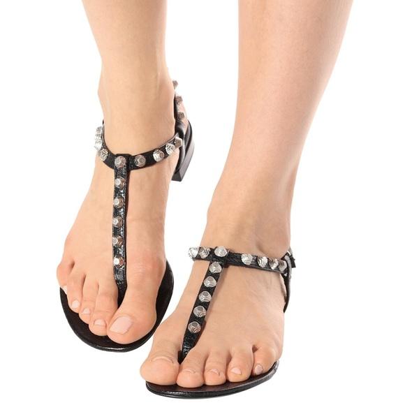 balenciaga t strap sandal Shop Clothing